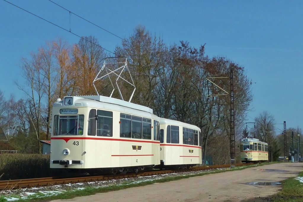 Bei Sundhausen an der Weiche 9.