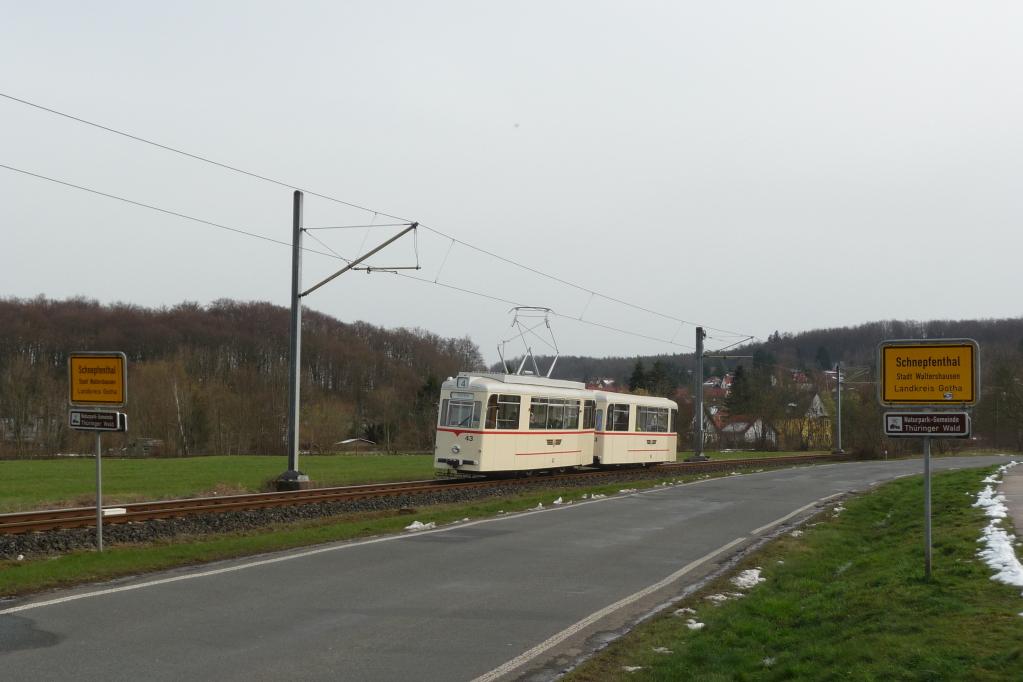 Bei Schnepfenthal.