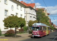..und noch ein Düwag: Gotha Waltershäuser-/Ernstraße (c) sphenix