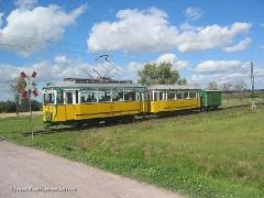 ...auf der Waldbahn Linie 4 kurz vor Wahlwinkel,... (c) Kutting