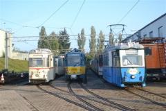 Tw 39,47 und 306, Betriebshof, 20.09.2014, (c) Natzschka