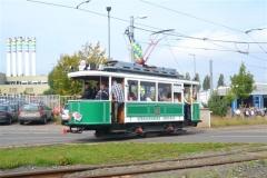Tw 7 (SVZ), Ausfahrt Betriebshof, 20.09.2014, (c) Natzschka