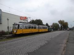 Historischer Zug 56-82-101, Hst. ha-we-ge-Markt, 20.09.2014, (c) D. Kirchberger