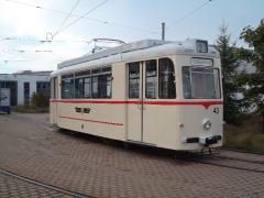 Tw 43, Betriebshof TWSB, 20.09.2014, (c) D. Kirchberger