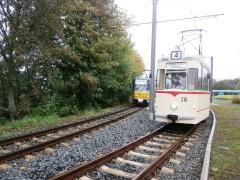 Tw 215, Waltershausen-Gleisdreick, 21.09.2014, (c) Schneider