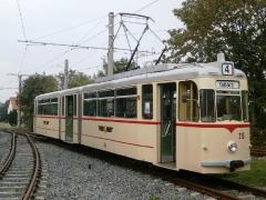 Tw 215, Waltershausen-Gleisdreick, 21.09.2014, (c) Schneider 2