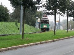 Tw 7 (SVZ) , Waltershäuser Str., Gotha, 21.09.2014, (c) Schneider