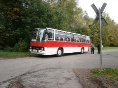 Ikarus 255, Parkplatz Marienglashöhle, 12.10.2014 (C) Schneider