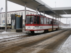 Tw 314, Gotha Hbf, 25.01.2014, (c) Schneider