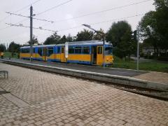 Tw 508, Waltershausen-Gleisdreieck, 21.09.2014, (c) Schneider