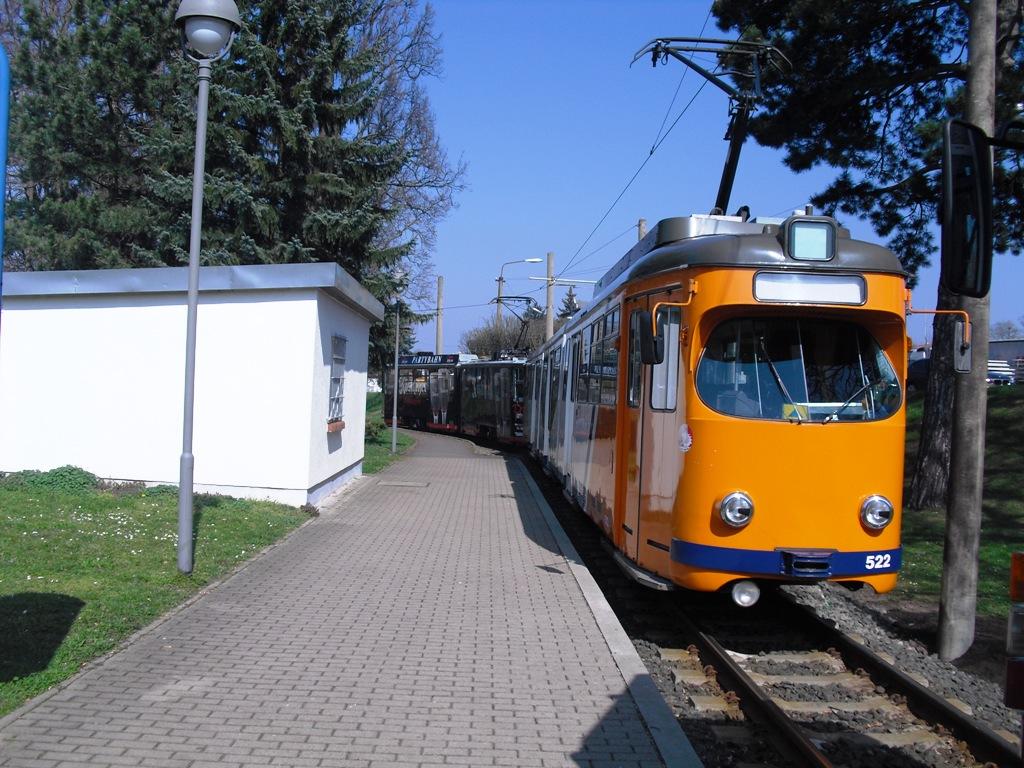 Tw 522, Waltershausen Bf., 29.03.2014, (c) Schneider