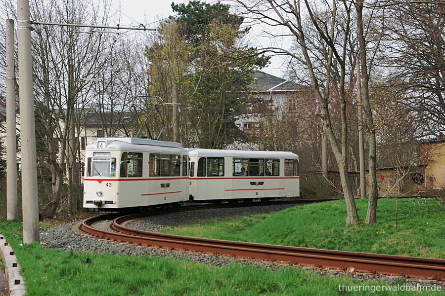 Schleife Walthershausen Bahnhof | Tw 43, Bw 93 | (c) U. Kutting