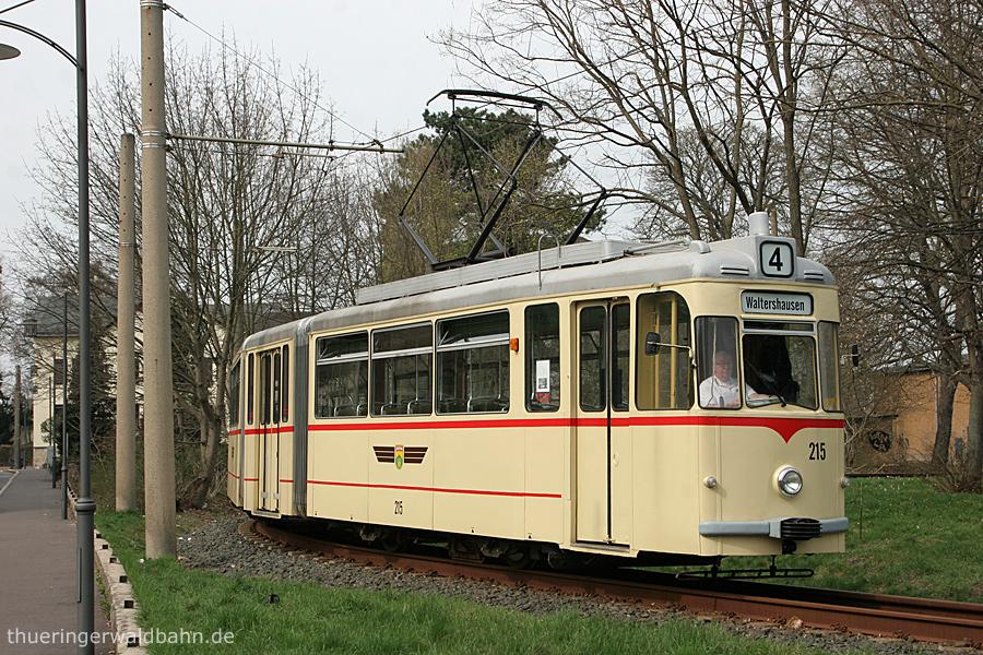 Ebenso Schleife Walthershausen Bahnhof | Tw 215 | (c) U. Kutting
