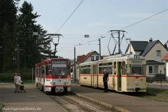 Volles Haus un Bad (!) Tabarz | Tw 314 , Tw 215 | (c) U. Kutting