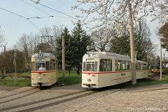 Das Doppel in Walthershausen | Tw 215, Tw 43, Bw 93 | (c) U. Kutting