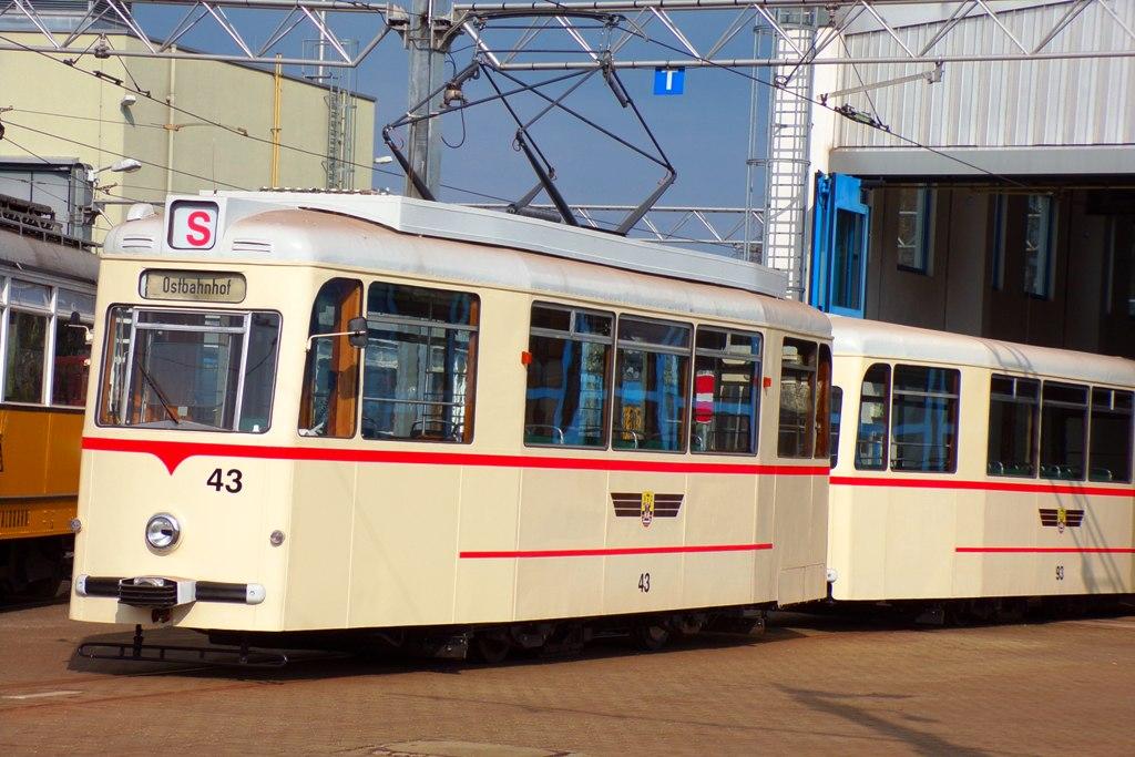 Wagenhalle | Tw 343, Bw 93 | (c) A. Schneider