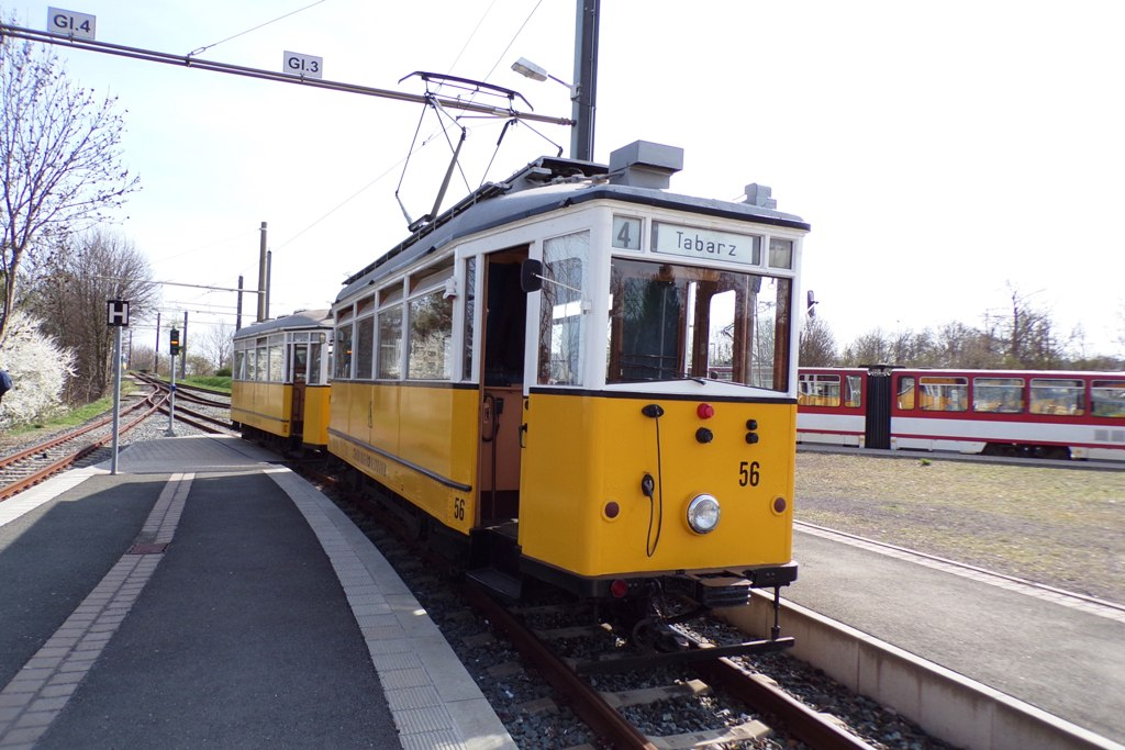 Walthershausen Gleisdreieck | Tw 56, Bw 82 | (c) A. Schneider