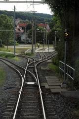 Gleisdreieck, Gothaer Spitze