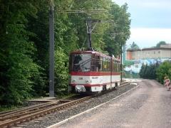 Tw 309/Waltershausen-Gleisdreieck/21.05.2009