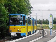 Tw 316 (B-Seite), Waltershausen-Gleisdreick, 25.06.2011