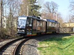 Tw 111, WS Waltershausen Bf., 29.03.2014