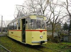 HTw 215, Waltershausen-Gleisdreieck, 24.02.2007