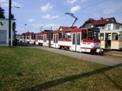 Tw 308+311, Hst. Bad Tabarz, 300.3.2019