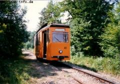 Der ATW 40 auf der Schleife am Boxberg. (7. August 1997)