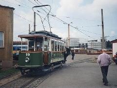 Historischer TW 29 zu Gast aus Gera. (2.5.1994)