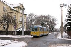 Tw 528 (Planzug) im Stadtgebiet Waltershausen (FoSoFa 2005)