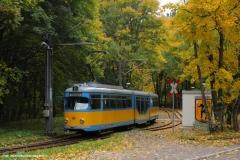 TW 505 - Hier macht die Thüringerwaldbahn wieder ihrem Namen alle Ehre. Oktober 2013