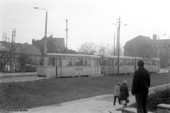 Tw 203 / Bw 93 | Huttenstraße 1974