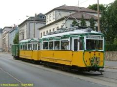 Traditionszug auf der Friedrichstraße. (12.9.2004)