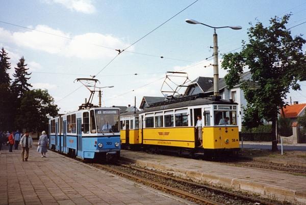 Tabarz mit KT4D 303 (CKD 1981 / 1991 modernisiert)...