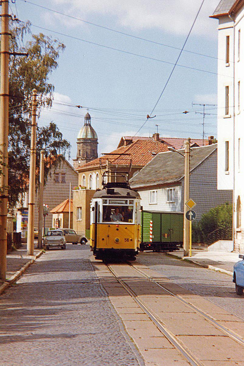 Ortsdurchfahrt in Waltershausen