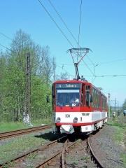 KT4D 308 (CKD 1990) ex Erfurt 538 in Boxberg