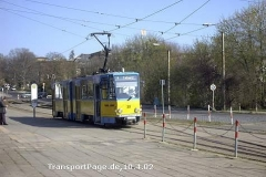 Triebwagen 301, ein modernisierter KT4D. (10. April 2002)