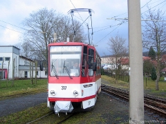 TW 317 am Gleisdreieck.