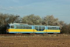 Tw 505 auf dem Weg zum Boxberg (1. April 2017)