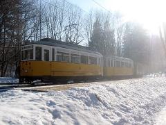 Fotosonderfahrt 01/2006. Traditionszug an der Hst. Rheinhardsbrunn Bahnhof. (28. Januar 2006)