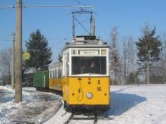 Fotosonderfahrt 01/2006. Der Traditionszug am Gleisdreieck. (28. Januar 2006)
