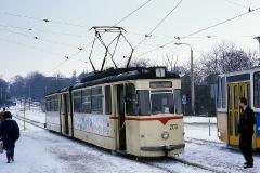 Die folgenden Bilder sind anlässlich eines Tagesausflugs im Februar 1991 entstanden. Zunächst einige Aufnahmen vom Hauptbahnhof.