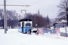 Nochmals Gleisdreieck Waltershausen. (Februar 1991)