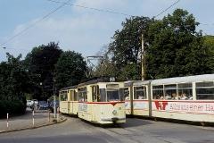 Tw 36 und Tw 209. (August 1991)