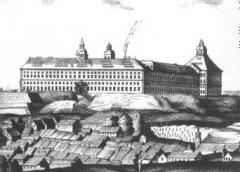 Schloss Friedenstein - Historischer Stich