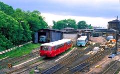 Wir beginnen unsere Reise mit der Thüringerwaldbahn am Gothaer Hauptbahnhof. Dort führt die Hauptbahn von Eisenach in die Thüringer Landeshauptstadt Erfurt, sowie die Strecken von Leinefelde nach Arnstadt, bzw. Suhl vorüber.