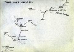 Das Gothaer Straßenbahn-Netz bestand und besteht aus einer ziemlich bekannten Linie (4=Waldbahn), einer ziemlich unbekannten (2) und einer,