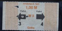 Im Stadtverkehr musste man einen Abschnitt lochen, auf der Überlandlinie war ein Schaffner unterwegs (1987)