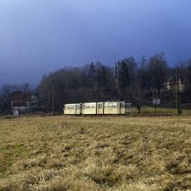 In der bedrohlich über den Höhen des Thüringer Waldes wabernden Wolkendecke tat sich ein Loch auf,