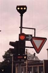 Gotha 05.09.1990 Signalanlage | (c) PvCC